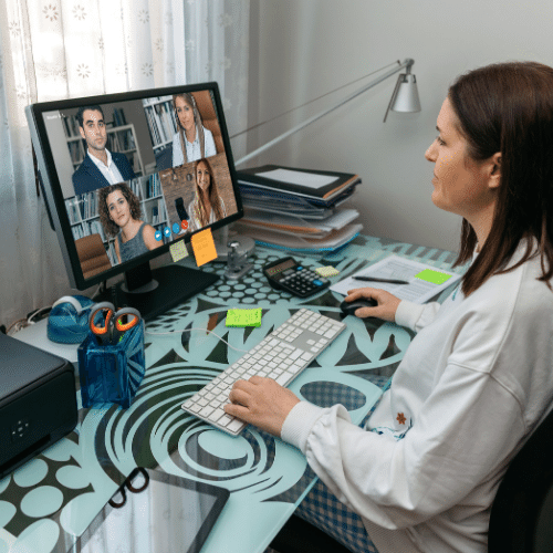 Best Monitors For Video Conferencing blog feature image