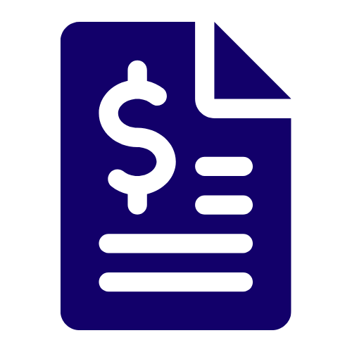 Invoice factoring category icon