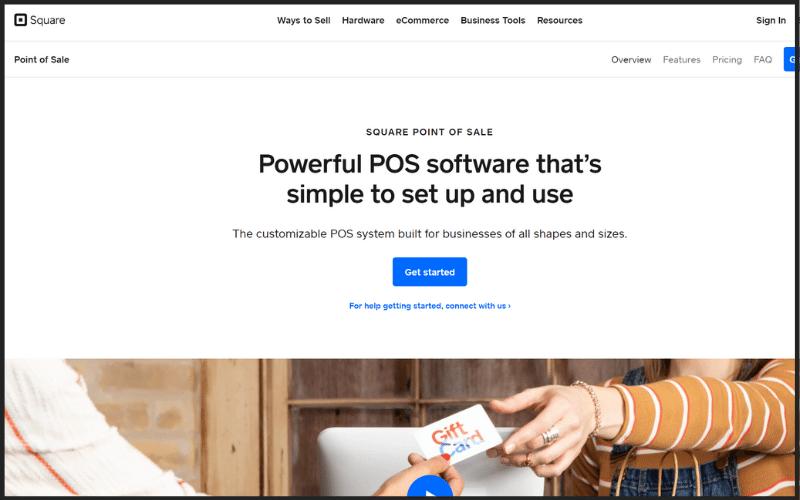 Square POS Website Image